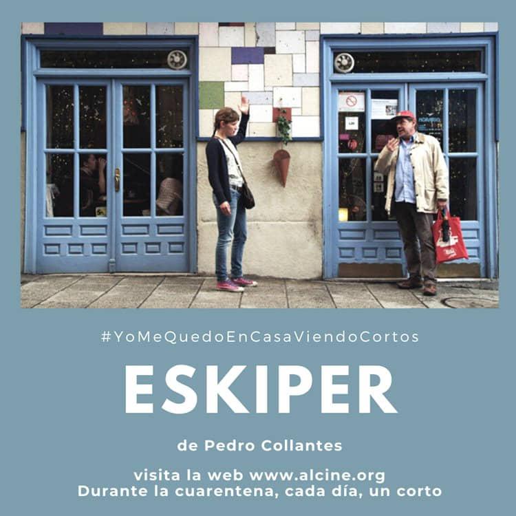 """""""Eskiper"""", un padre, una hija, una plaza y un plano #YoMeQuedoEnCasaViendoCortos"""
