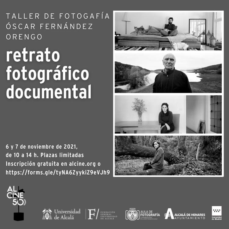 Abierta la inscripción para participar en el taller de 'Retrato fotográfico documental' impartido por Óscar Fernández Orengo