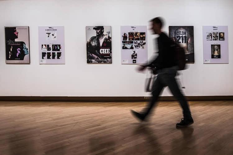 ALCINE inaugura la exposición 'T38: 15 años diseñando carteles de cine'