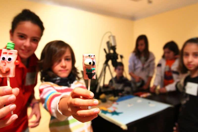Talleres para niños Stop motion e inmigracion