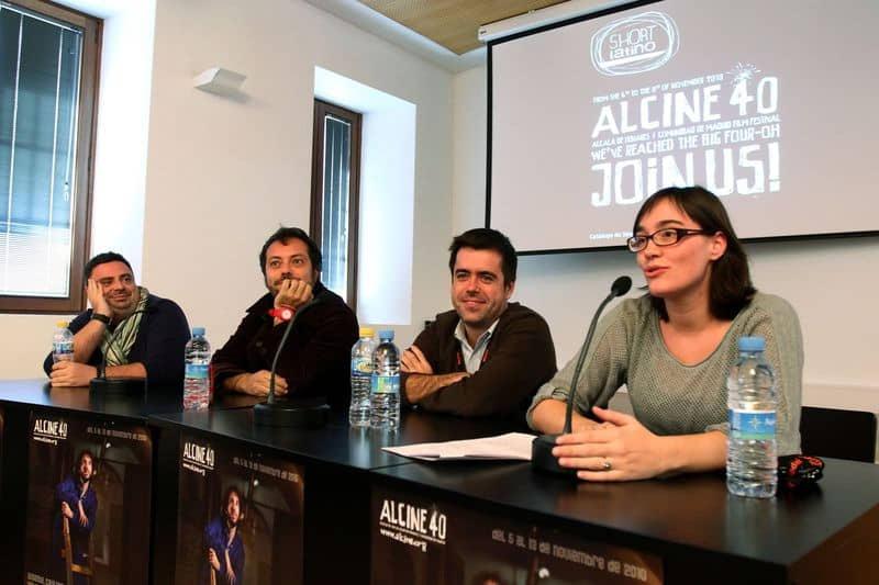 Shortlatino Working LAB con productores Cazatalentos