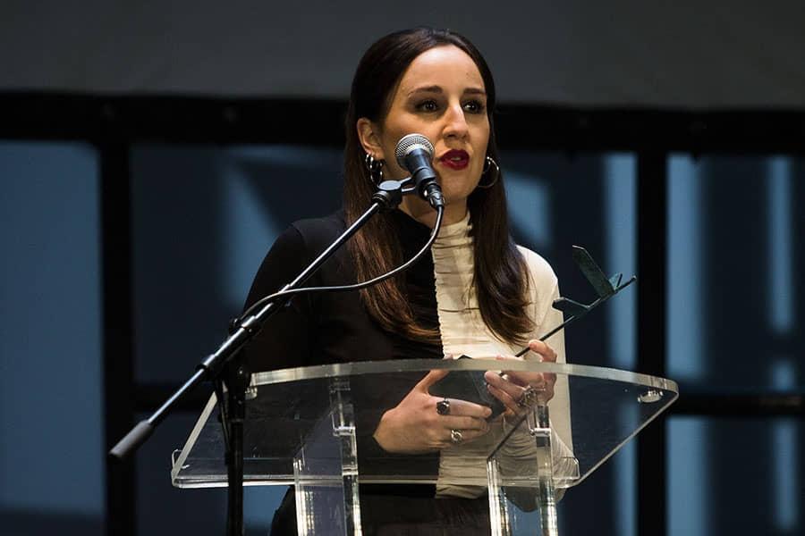 Cris Iglesias (16 de decembro), Trofeo ALCINE a la Mejor Interpretación Femenina