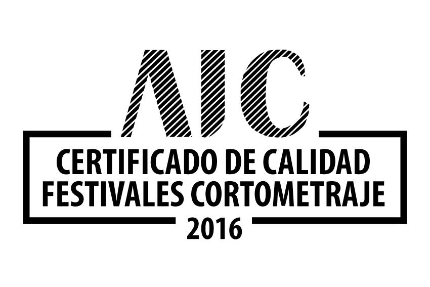 Certificado de Calidad Festivales Cortometraje 2016
