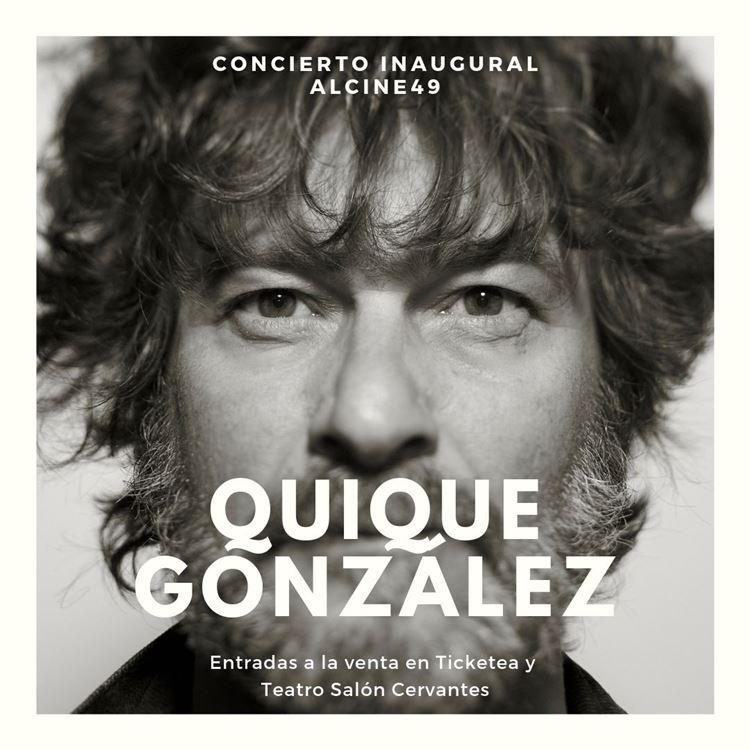 Quique González en concierto